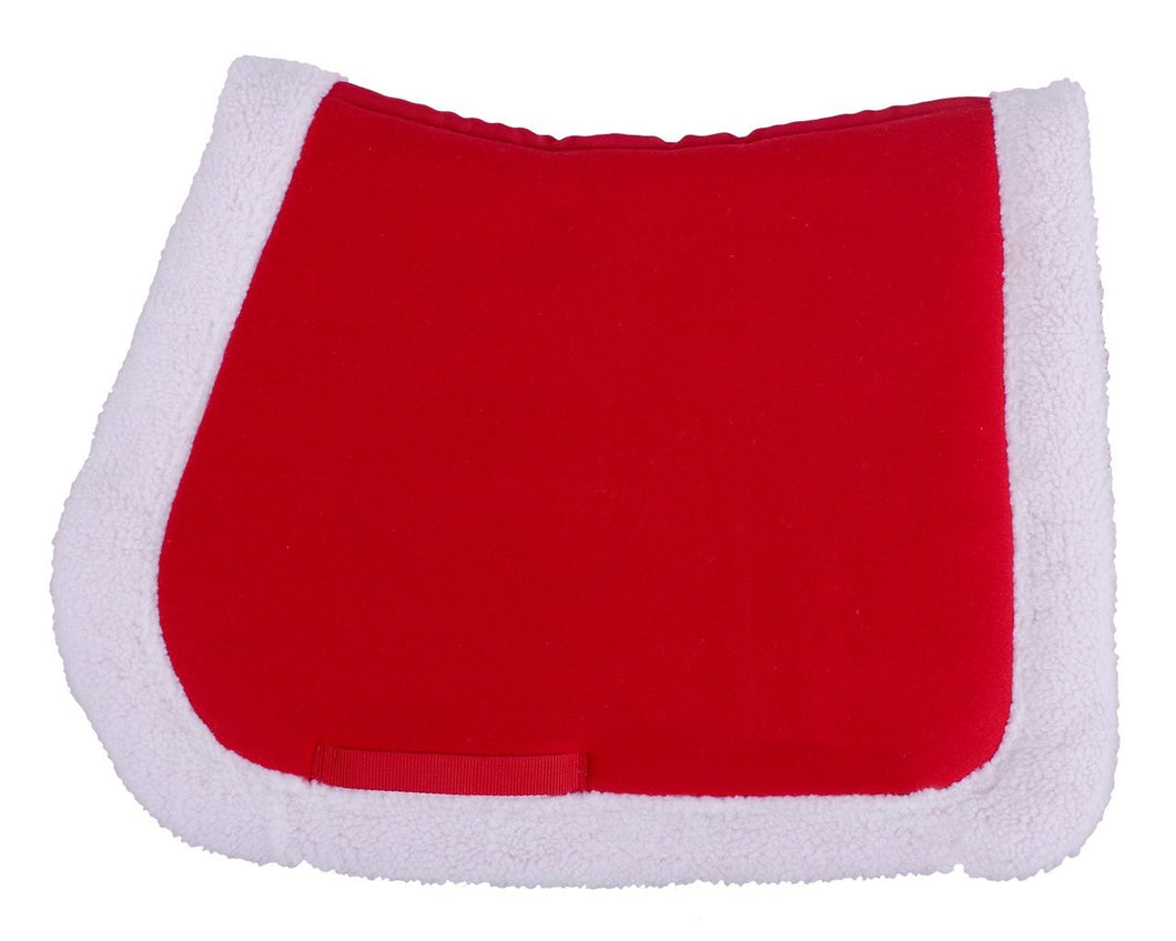 QHP Christmas saddle pad