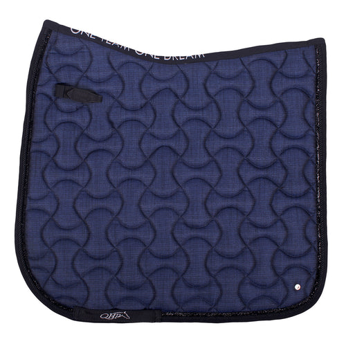 QHP Metallic Glitz Saddle Pad