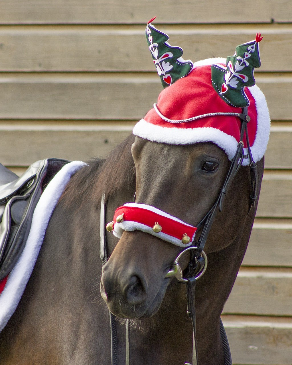 Qhp Christmas Tree Bonnet The Collected Pony