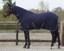 QHP Fleece rug with neck