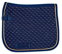 HKM DRESSAGE SADDLE PAD WITH PIPING