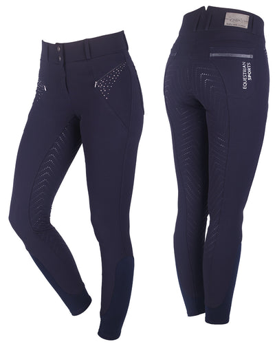 QHP Anti-Slip Full Seat Breeches Lott
