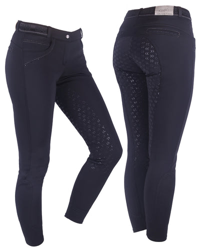 QHP Softshell Full Seat Breeches Alexa