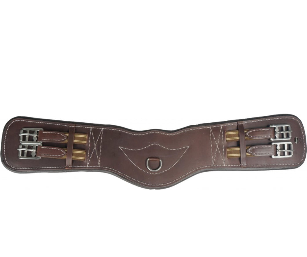 Horka Shaped Leather Dressage Girth