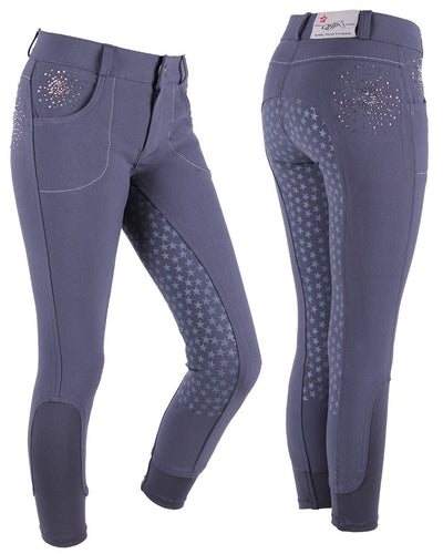 QHP Chelsey Junior Anti-Slip Breeches