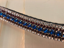 5 Row Crystal Browband