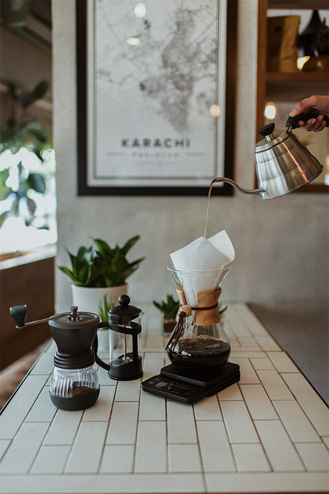 Rethink Pour-Over Gooseneck Kettle | Rethink Café | Pakistan