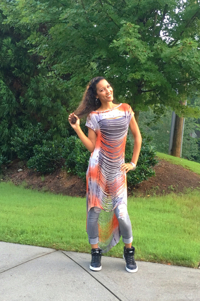 The Zena Top ~ Multi Color