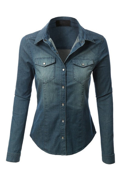 The Chambray Denim Shirt