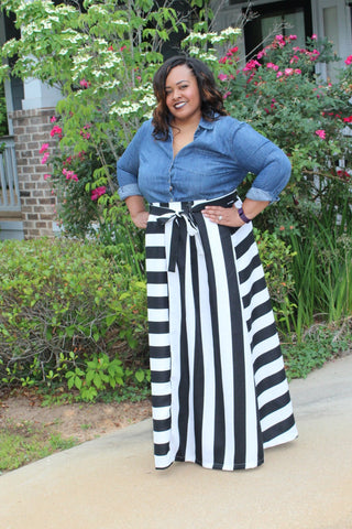 The Bria Maxi Skirt ~ Curvy Chicks