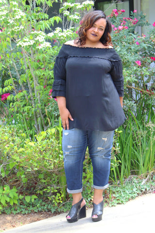 The Callie Top ~ Curvy Chicks
