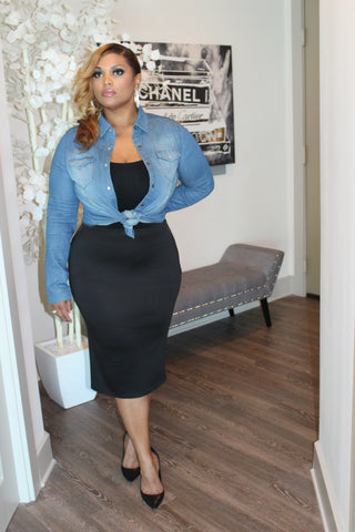 The Pencil Skirt ~ Black