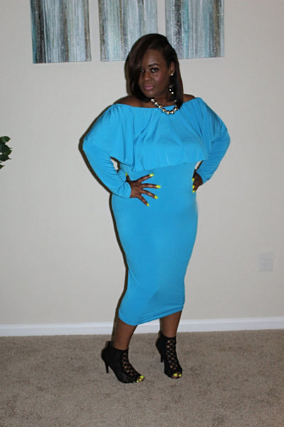 The Mya Dress ~ Curvy Chicks