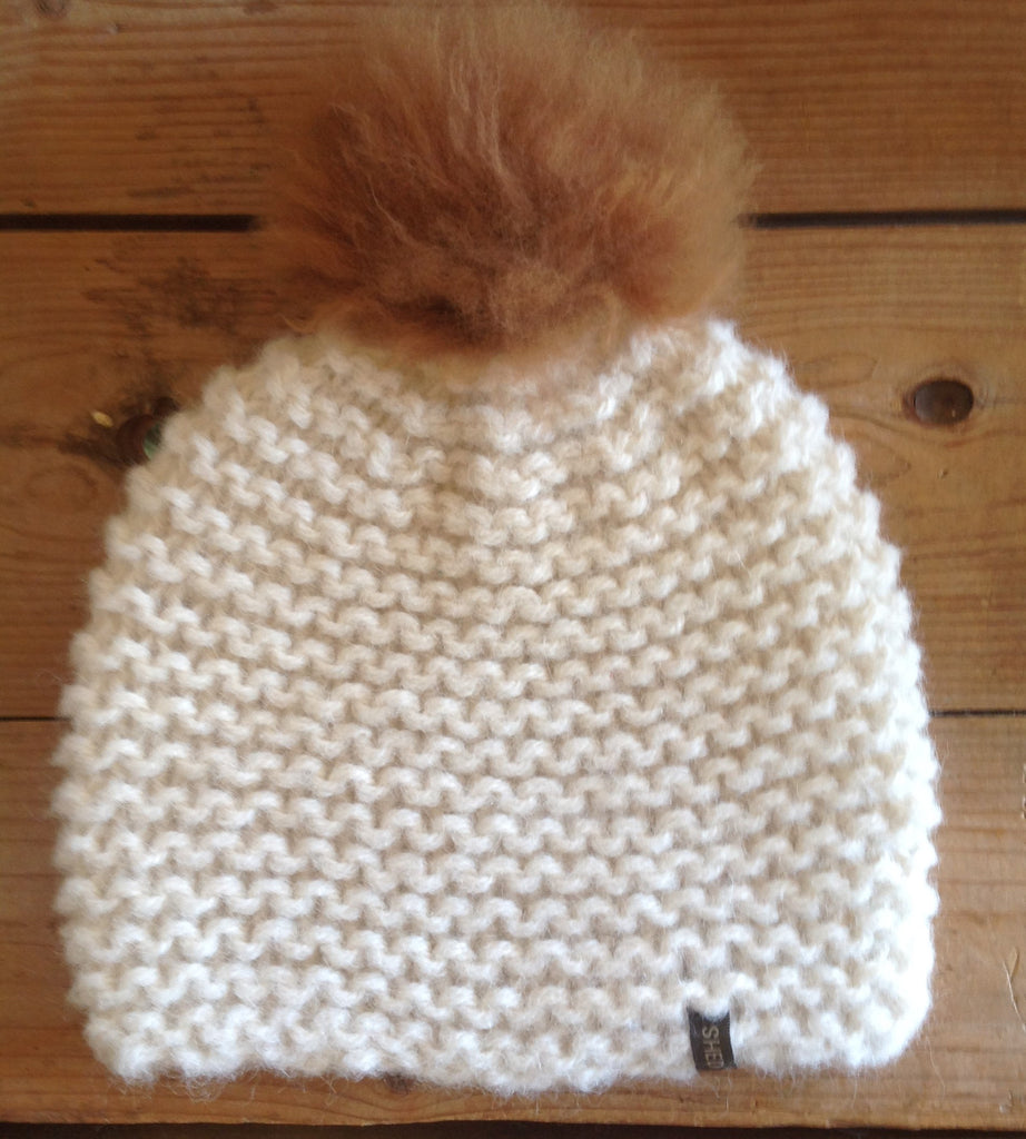 Classic Pompom Hat - SHED Chetwyn Farms