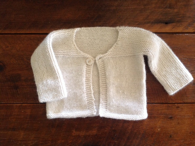 Sweater - Baby 1 button - SHED Chetwyn Farms