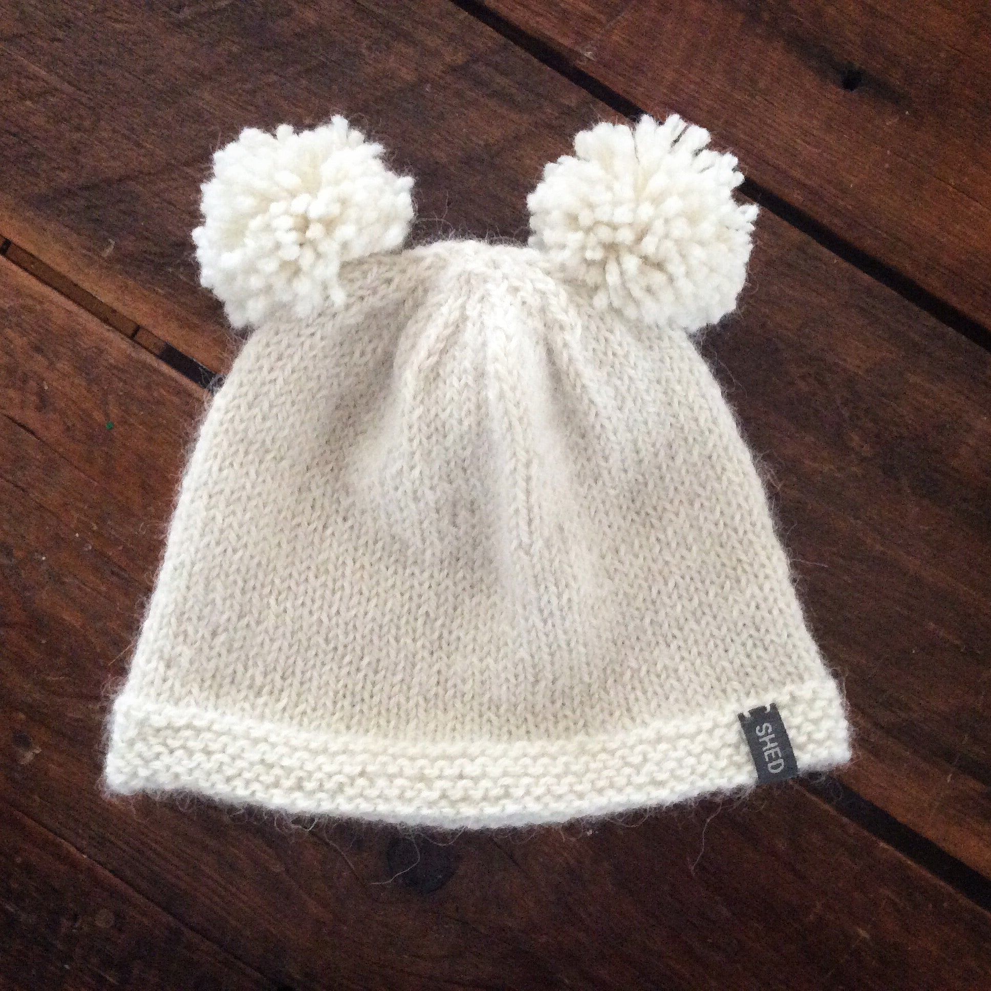 "Cap - Toddler & Children's double Pom-Pom ""Vaida"""