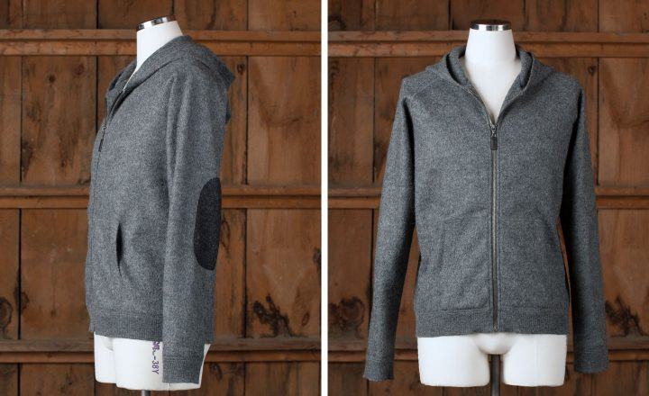 "Zip Hoody - The ""County"" - SHED Chetwyn Farms"