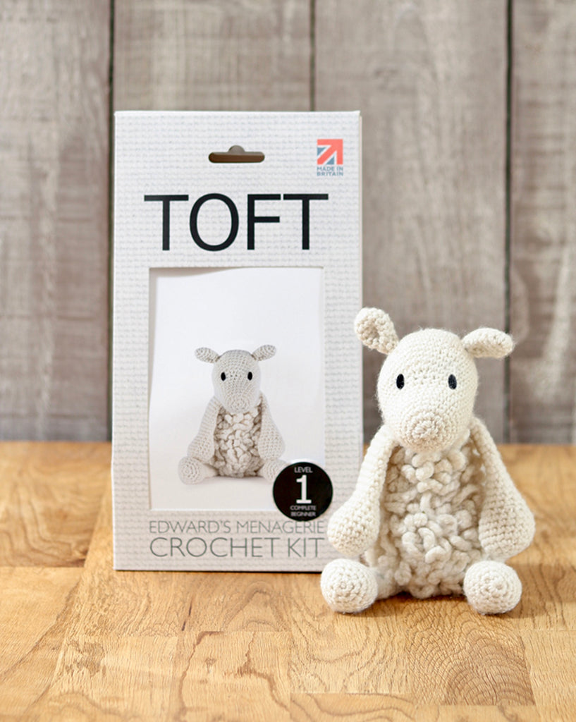 Crochet Kit - Simon the Sheep