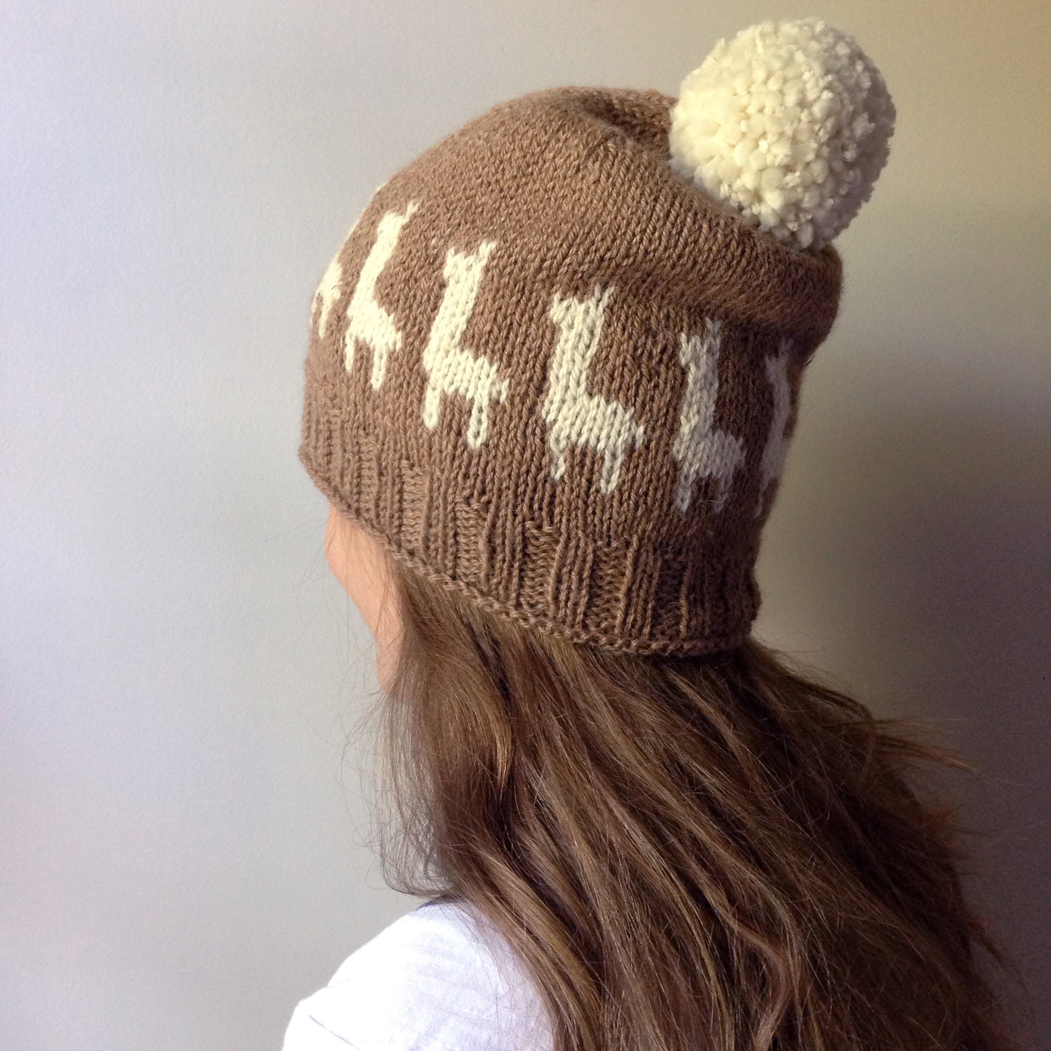 KIT - Chetwyn Alpaca Cap (pattern & yarn for knitting)