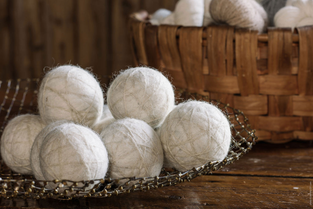 Dryer Balls (set of 3) 100% alpaca
