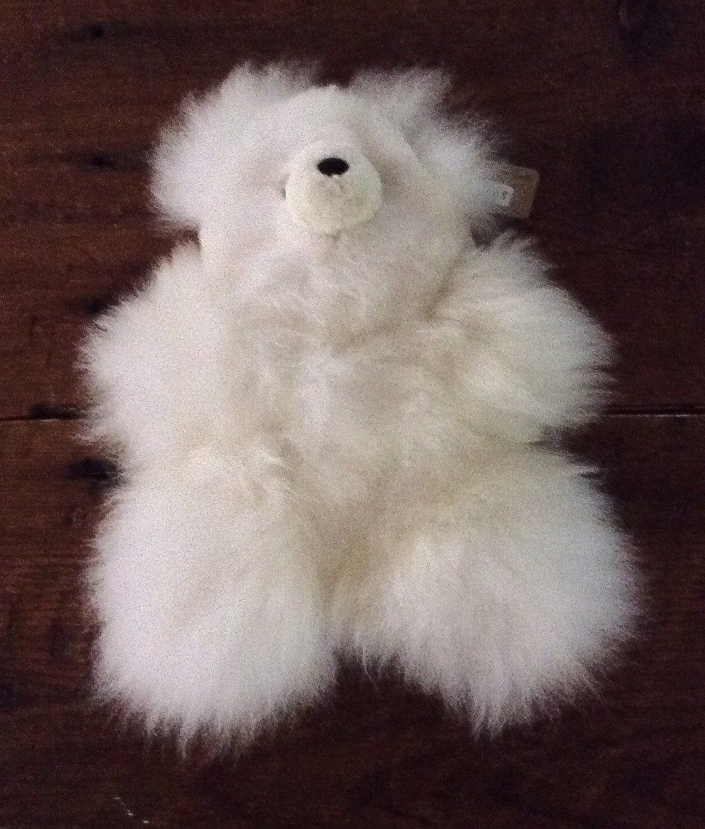 "Teddy Bear Plush - ""Guilt Free Alpaca"""