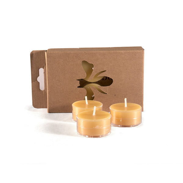 Beeswax Tealights - 6 pack