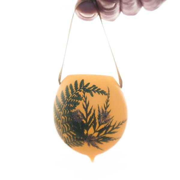 Mixed Fern Ornament