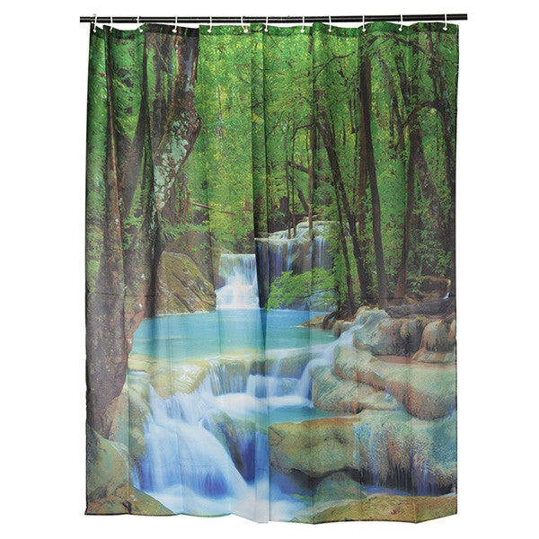 Best Selling Beautiful Scenic Shower Curtains
