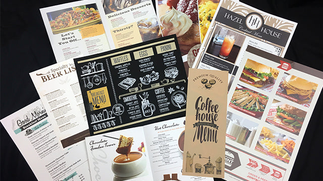 PaperTyger for print on demand menus and more