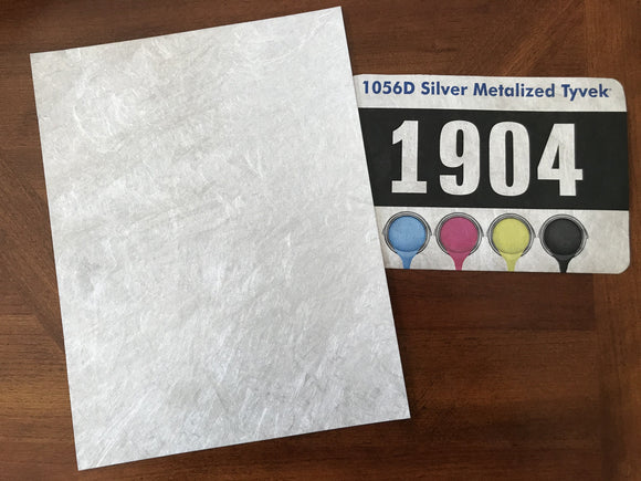 Silver Metalized Tyvek for printing