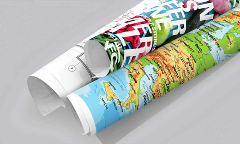 wide format durable paper for maps, construction drawings and more