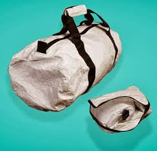 Tyvek Soft Structure for durable duffle bags