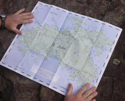 Tyvek Sheets for durable maps