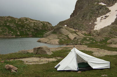 Tyvek makes great weather resistant tents