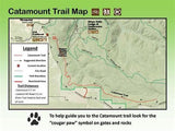 Tyvek for waterproof trail maps
