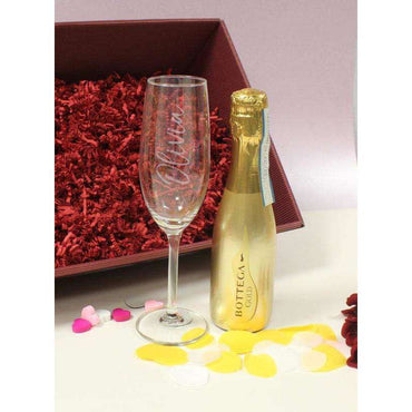 200ml Gold / Rose Gold Bottega & Flute Set
