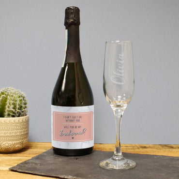 Can't Say I Do Without You Prosecco Gift Set