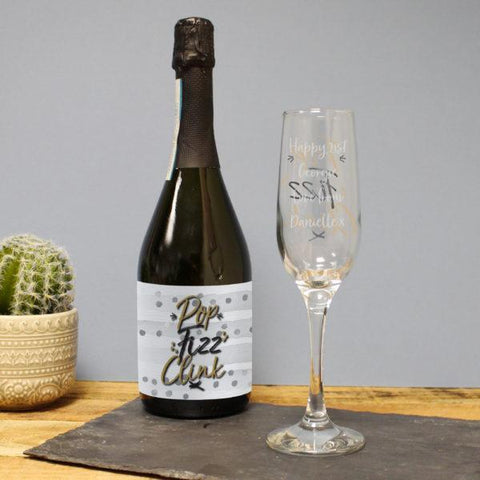 Pop, Fizz, Clink Prosecco Gift Set