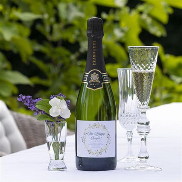 Personalised Happy Couple Champagne