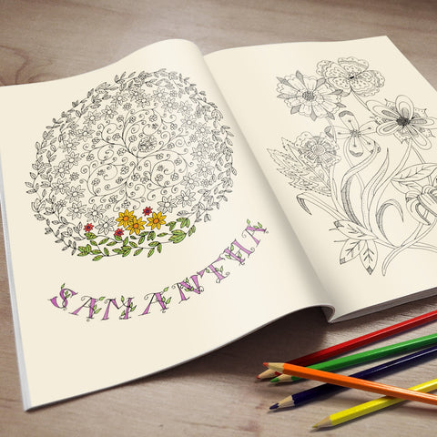 Personalised Adult's Colouring Book