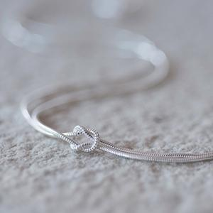 Tying The Knot Necklace