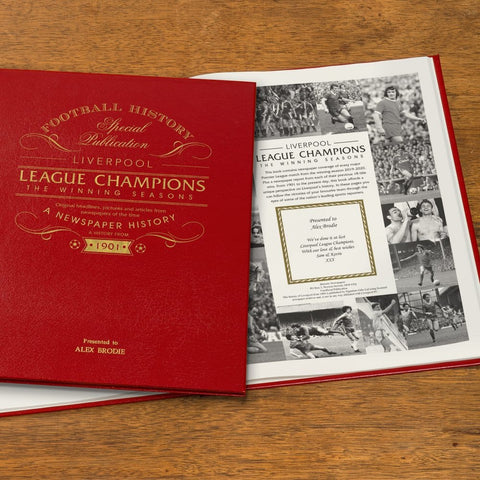 Liverpool League Champions – The Winning Seasons