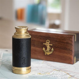 Personalised Brass Telescope