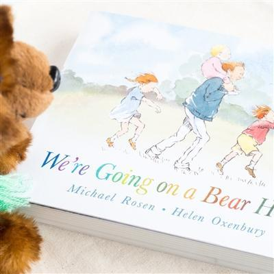 We're Going On A Bear Hunt Toy & Book