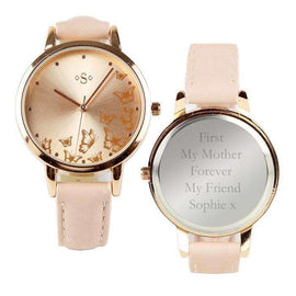 Personalised Rose Gold Ladies Watch