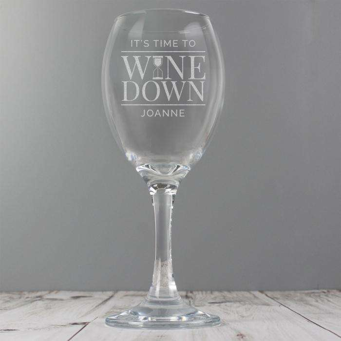 Personalised Wine Glass