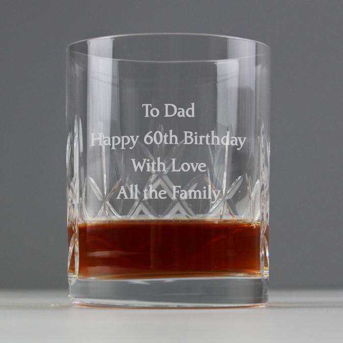 Personalised Cut Crystal