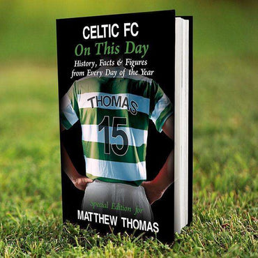 Personalised Celtic on this Day Book