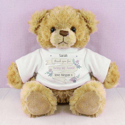 Personalised T-Shirt Message Bear