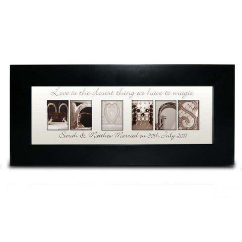 Personalised Affection Art Small Frame